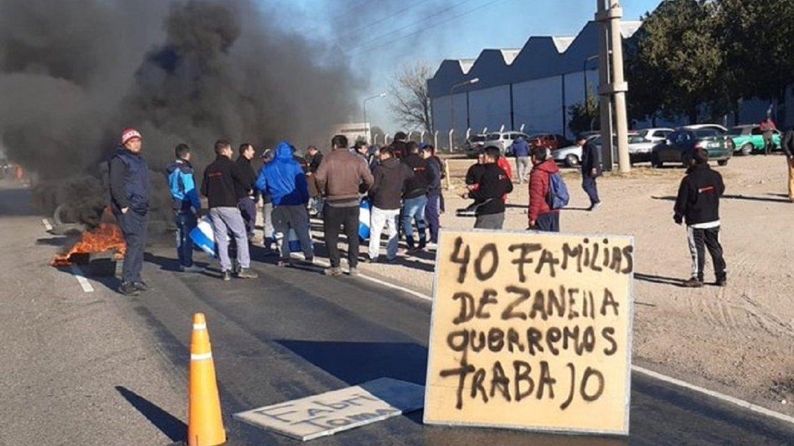 Zanella ratificó el cierre de su planta en Córdoba
