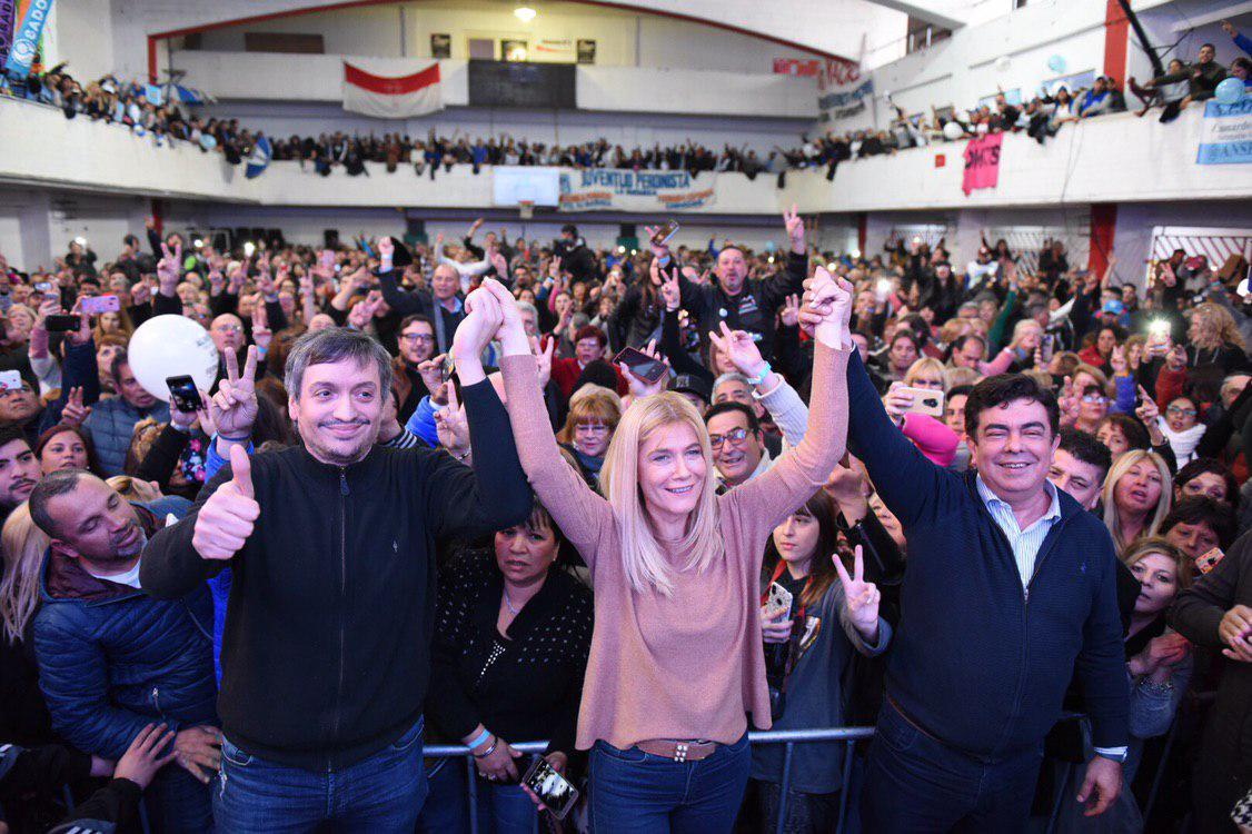 Máximo Kirchner pidió «que nadie se deje engañar» en estas elecciones