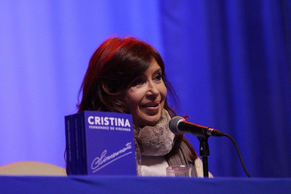 Cristina presentará su libro en La Plata