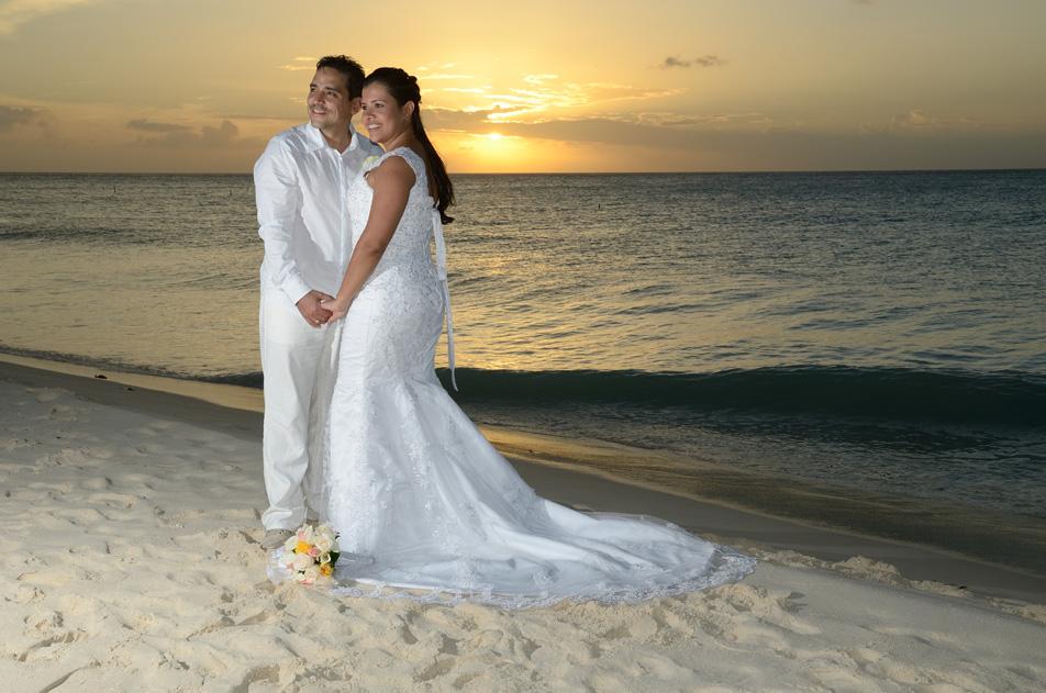 El sueño de casarse en Aruba es posible