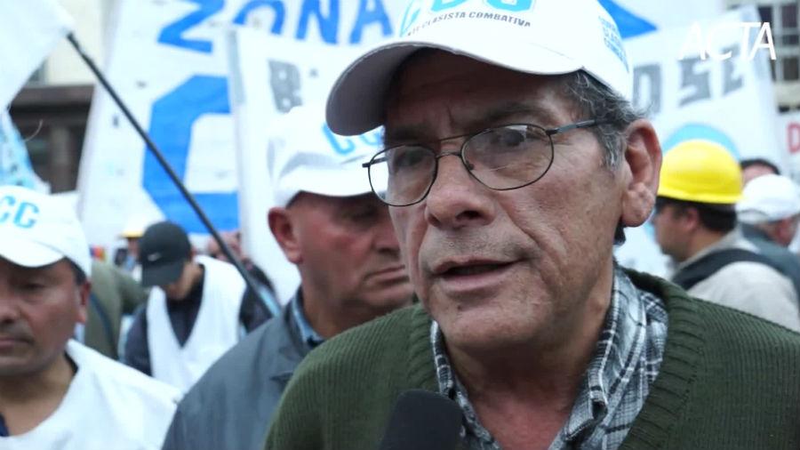 Juan Carlos Alderete: «Hay una catástrofe social, esto no va más»