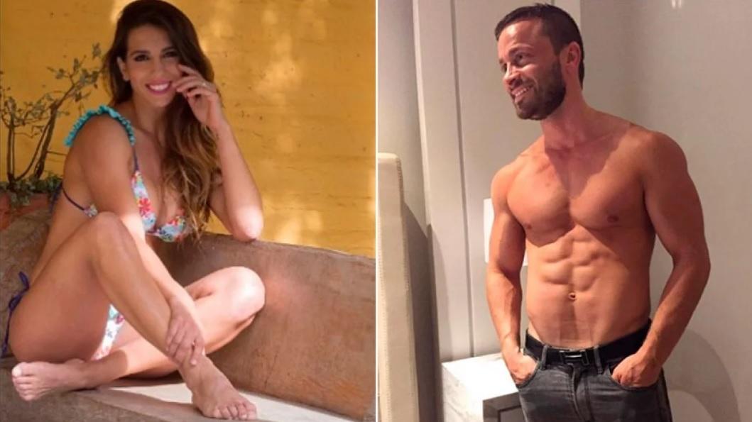 Martín Baclini, el novio hot de Cinthia Fernández, y el deseo de un cuarteto con Jennifer Aniston y Brad Pitt