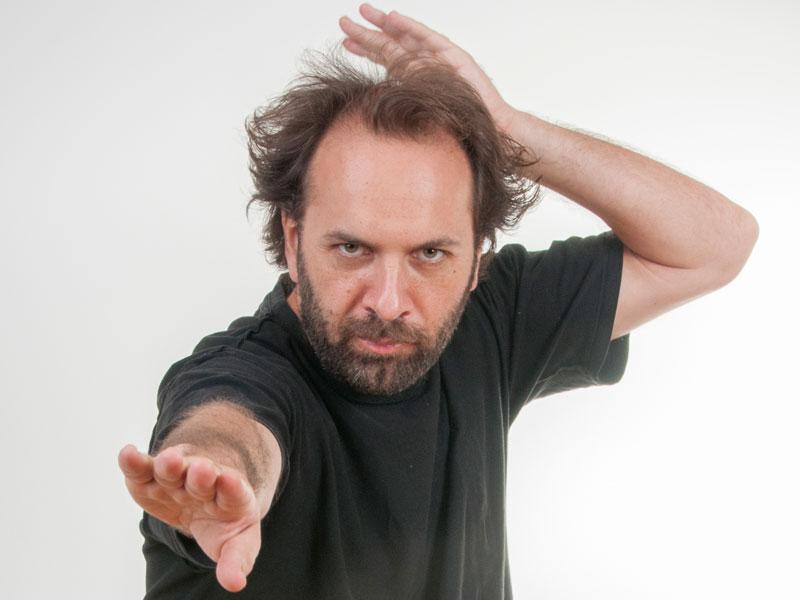 Guillermo Selci: «Lo que más me seduce es cuando un cómico es orgánico»