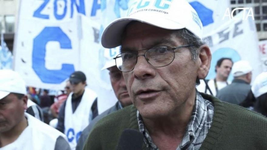 Alderete dijo que Macri «está provocando una catástrofe social»