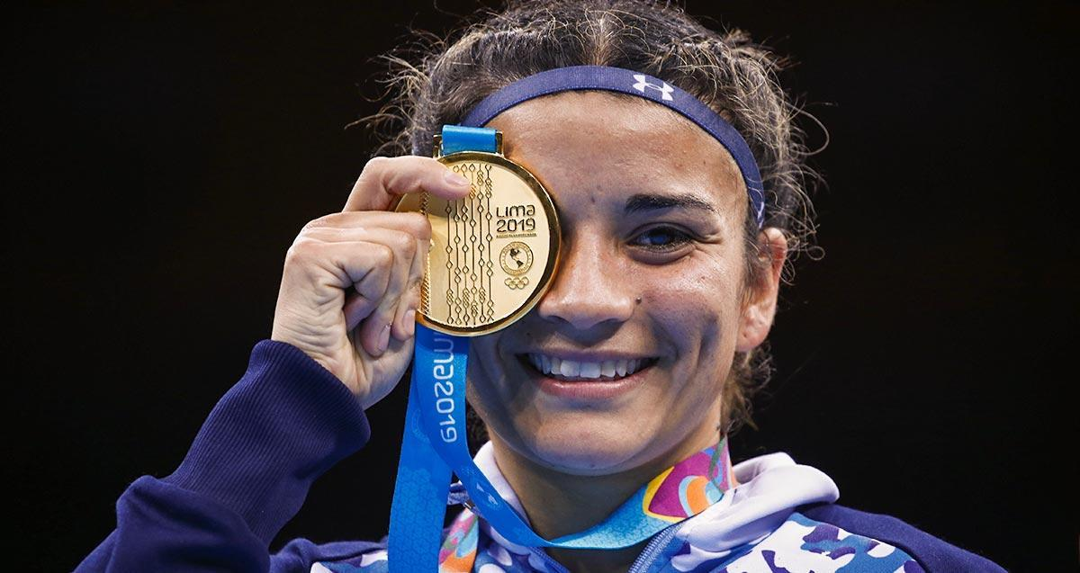 Histórico triunfo de la boxeadora Leonela Sánchez en los Panamericanos