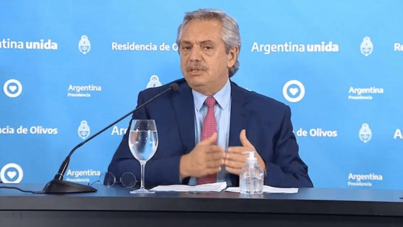 Alberto Fernández: «Voy a ser duro con los que despiden gente»