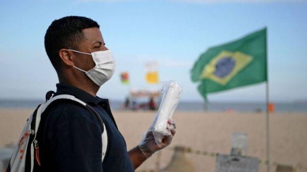 Coronavirus: la cantidad de muertos en Brasil se dispara y genera preocupación